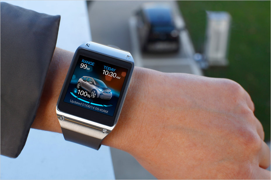 BMW Samsung Smart Watch