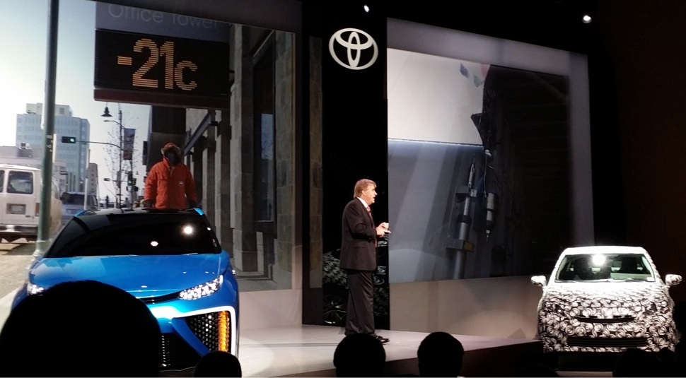 Toyota Fuel Cell Präsentation